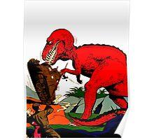 Tyrannosaurus Wrex Poster