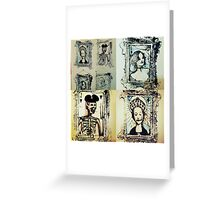 Starving Jack, Smoking Queen of Diamonds, Spanking Queen of Spades.  Greeting Card