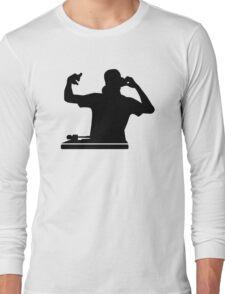 DJ Turntables club music Long Sleeve T-Shirt