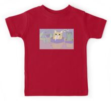 Cat And Spitball Kids Tee
