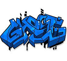 """Graffiti """"Ghost"""" - By GhostToast  Photographic Print"""