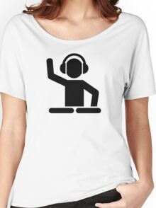 DJ Turntables Women's Relaxed Fit T-Shirt