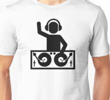 DJ Turntables party Unisex T-Shirt