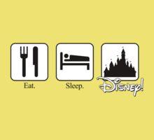 Eat. Sleep. Disney! Kids Clothes
