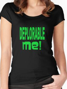 DEPLORABLE ME 1 Women's Fitted Scoop T-Shirt