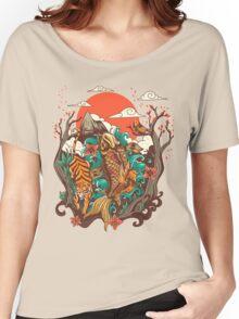autumn sunset Women's Relaxed Fit T-Shirt