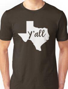Y'all Texas Unisex T-Shirt
