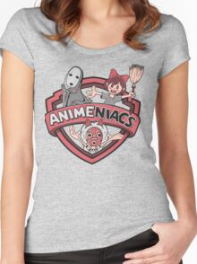 Animeniacs 6 Women's Fitted Scoop T-Shirt