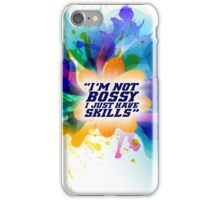 I'm not bossy - Office Inspirational Quote iPhone Case/Skin