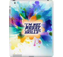 I'm not bossy - Office Inspirational Quote iPad Case/Skin
