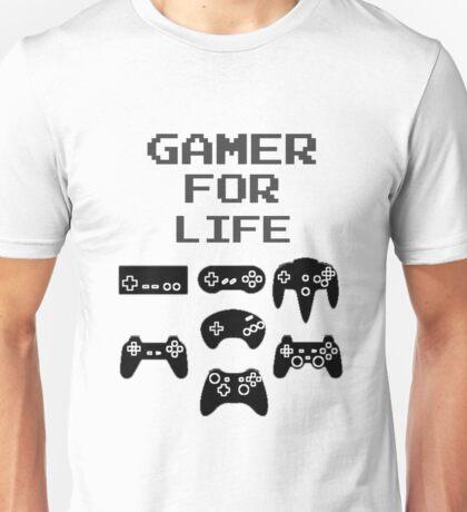 Gamer For Life  ( Clothing & Sticker) Unisex T-Shirt
