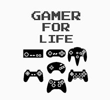 Gamer For Life  ( Clothing & Sticker) T-Shirt