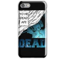 Obito/DEAD iPhone Case/Skin