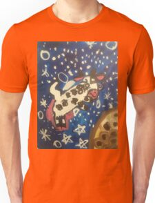 Cow jumped over the MOON! Unisex T-Shirt