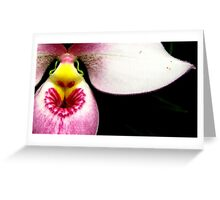 Lipstick Love - Orchid Alien Discovery Greeting Card