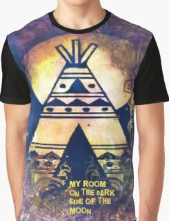 My Room On The Dark Side Of The Moon Graphic T-Shirt