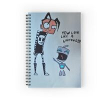 Nny and Gir Spiral Notebook