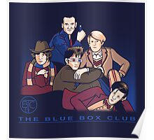 The Blue Box Club Poster