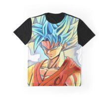 Super Saiyan Blue Goku Graphic T-Shirt