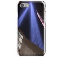 9/11 Tribute Lights, Lower Manhattan, New York City iPhone Case/Skin