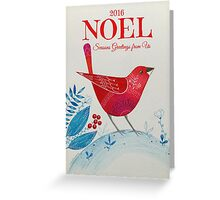 Noel 2016 Greeting Card