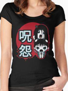 Ju-On Kawaii Women's Fitted Scoop T-Shirt