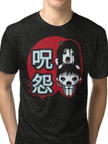 Ju-On Kawaii Tri-blend T-Shirt