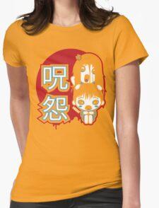 Ju-On Kawaii Womens Fitted T-Shirt