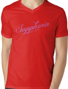sapphoria Mens V-Neck T-Shirt
