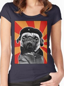 che pug Women's Fitted Scoop T-Shirt