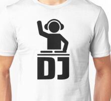 DJ turntable vinyl Unisex T-Shirt
