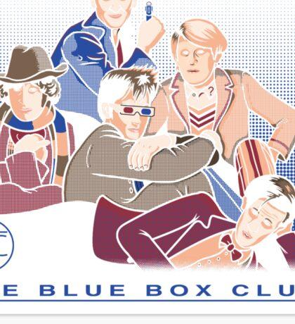 The Blue Box Club Sticker