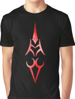 Saber Command Spell Red Graphic T-Shirt