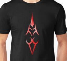 Saber Command Spell Red Unisex T-Shirt