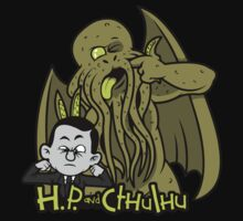 H.P. and Cthulhu by Ratigan