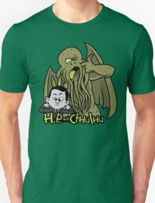 H.P. and Cthulhu Unisex T-Shirt