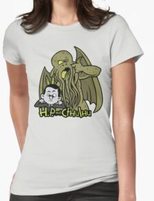 H.P. and Cthulhu Womens Fitted T-Shirt