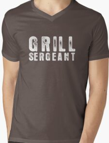 Grill Sergeant Mens V-Neck T-Shirt