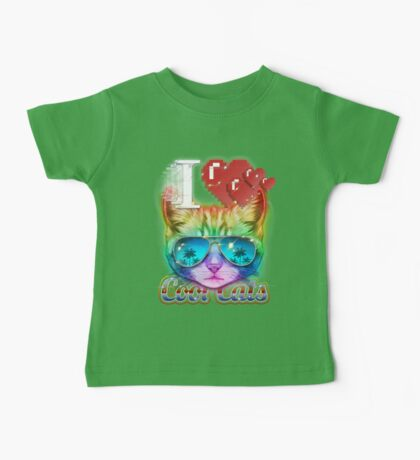 I <3 Cool Cats Baby Tee