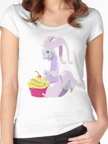 Goodra's Cupcake Women's Fitted Scoop T-Shirt