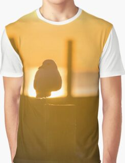 Seagull Under The Morning Sun | Sayville, New York Graphic T-Shirt
