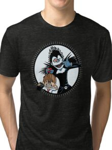 Light & Ryuk Tri-blend T-Shirt