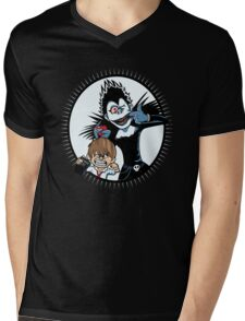 Light & Ryuk Mens V-Neck T-Shirt