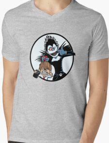 Light & Ryuk Mens V-Neck T-Shirt