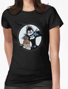 Light & Ryuk Womens Fitted T-Shirt