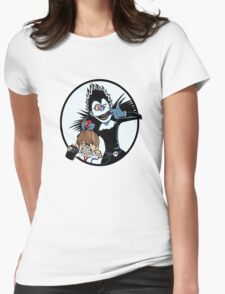 Light & Ryuk Womens Fitted T-Shirt