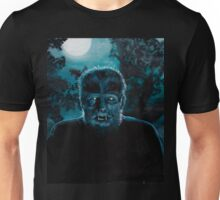 Wolf-Man on the Hunt Unisex T-Shirt