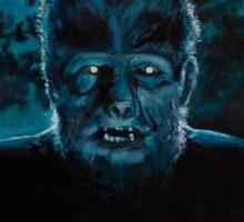 Wolf-Man on the Hunt Sticker