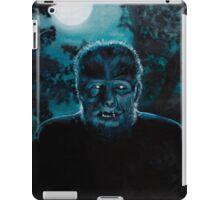 Wolf-Man on the Hunt iPad Case/Skin
