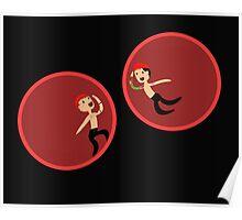 Twenty One Pilots hamster balls Poster